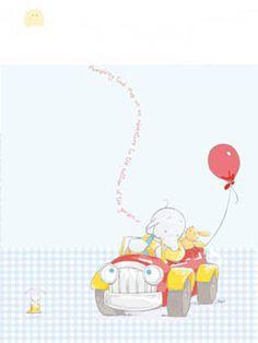 Humphrey with Car and Balloons, Humphrey's Corner, © Sally Hunter