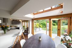 Julius Bahn specialises in building the finest oak-framed orangeries, perfect for both traditional and contemporary, kitchen and home extensions. Garden Room Extensions, House Extensions, Oak Framed Extensions, Extension Ideas, Folding Doors, Indoor Outdoor Living, Design Consultant, Sunroom, Country Life