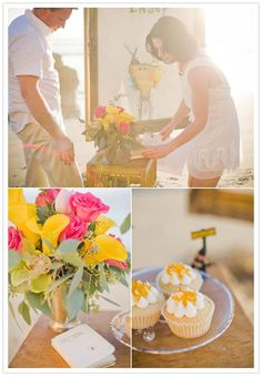 intimate vow renewal - cute idea! | Let us help you plan YOUR Vow Renewal www.PerfectDayWeddingPlanners.com