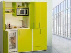 Schrankküchen – kochen auf kleinstem Raum #News #Küche