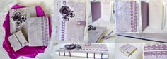 Kit caderno com costura copta, caderninho de bolso e porta post-it! #paperriê #encadernaçãoartesanal #encadernaçãoartísitca #feitoamão #scrap