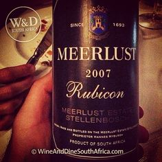 2007 Meerlust Rubicon #wine #southafrica