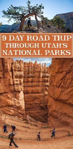 Your guide to an epic 9 day road trip through Utah's most beautiful parks. This would be an amazing summer road trip with the kids! park Driving The Utah National Parks - 9 Day Road Trip Voyage Usa, Voyage New York, Road Trip Usa, Road Trip National Parks, Mt Zion National Park, Arizona National Parks, American National Parks, National Forest, Places To Travel