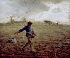 Jean Francois Millet (French, 1814-1875) - The Sower, 1865