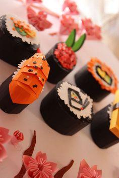 "Eaters 7 ""Zakura no Shiizun"" by Ira Carella Wijaya via Behance Origami Paper Art, 3d Paper, Paper Toys, Kirigami, Papier Diy, Food Sculpture, Paper Engineering, Paper Artwork, Food Illustrations"