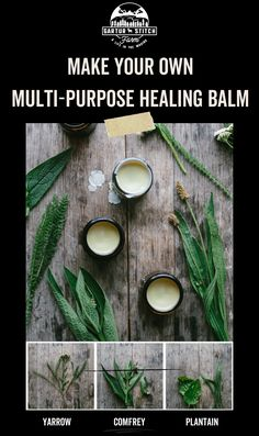Herbal Remedies, Natural Remedies, Comfrey Salve, Heal Bruises, Herbal Magic, Household Products, Natural Healing, Step Guide, The Balm