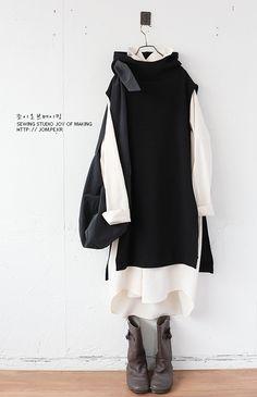 Modest Fashion Hijab, Muslim Fashion, Korean Fashion, Moda Outfits, Chic Outfits, Short Girl Fashion, Womens Fashion, Alternative Outfits, Japan Fashion