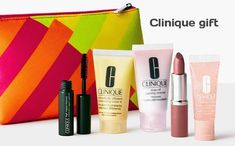 Clinique Gift direct from Clinique website - yours with any $45 purchase. To receive your kit you must enter offer code SUNSHINE at checkout.