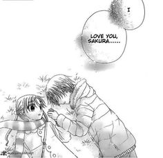 mangaloverr:  Chapter 172 of Gakuen Alice Ruka confesses to Mikan again <3
