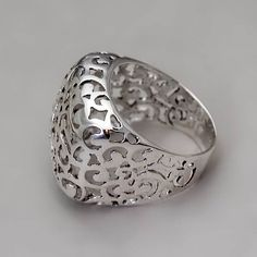 Sterling Silver Ring Handmade Sterling Silver by toolisjewelry