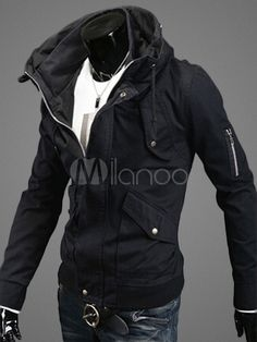 Belted Parka with Pockets and Drawchords - Save Up to 70% Off on fabulous fashion trend products at Milano with Coupon and Promo Codes.