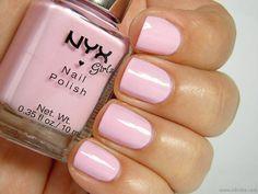 NYX Girls Nail Polish in French Pink