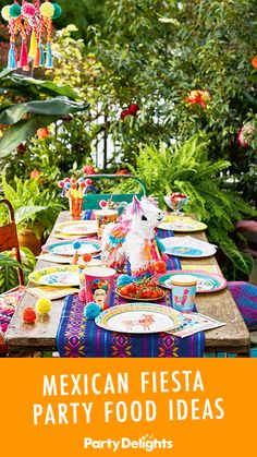 Hosting a Mexican fiesta party? Get inspiration for what to serve with our collection of Mexican fiesta party food ideas. Browse lots of easy but tasty Mexican party food! Mexican Fiesta Party, Fiesta Theme Party, Tea Party Theme, 30th Party, Mexican Party Decorations, Party Food Themes, Ideas Party, Party Food Platters, Mexican Night