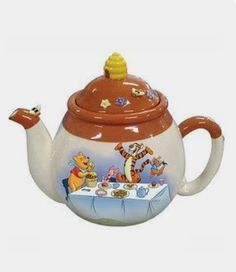 Look at this Winnie the Pooh Party Teapot on today! Look at this Winnie the Pooh Party Teapot on today! Westland Giftware, Teapots And Cups, Teacups, Tea Pot Set, Tea Sets, Winnie The Pooh Friends, Tea Cozy, Chocolate Pots, High Tea
