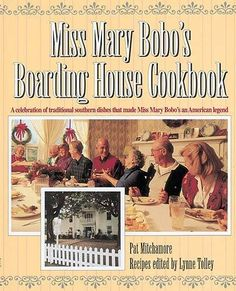Miss Mary Bobo's Boarding House Cookbook: A Celebration of Traditional Southern Dishes that Made Miss Mary Bobo's an American Legend by Pat Mitchamore http://www.amazon.com/dp/1558533141/ref=cm_sw_r_pi_dp_7Pl9vb04YQ3X0