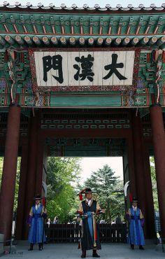 #Deoksugung Palace in Seoul, Korea