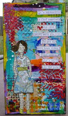 Mixed-media collage