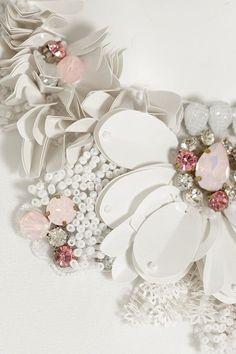 Biyan | Judith embellished silk-crepe top | NET-A-PORTER.COM: