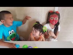 Learn colors with JOHNY JOHNY Yes Papa Nursery Rhymes & Kids Color FACE - YouTube
