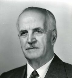 C. J. Mackenzie, National Research Council President, from  St. Stephen, New Brunswick