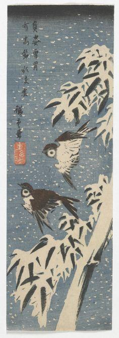 Woodblock print by Utagawa Hiroshige, c.1830s