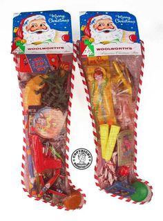 Christmas stockings from my childhood Christmas Past, Retro Christmas, Christmas Gifts, Coastal Christmas, Christmas Night, Christmas Door, My Childhood Memories, Great Memories, School Memories