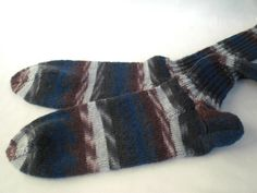 gestrickte Socken in Gr. 42/43 von Pfiffiges aus Heu, Wolle und Holz auf DaWanda.com