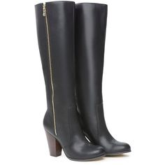 bebe Baylea High Shaft Boots ($169) ❤ liked on Polyvore featuring shoes, boots, sapatos, heels, zapatos, bebe boots, heeled boots, bebe and bebe shoes