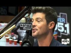 Interview With Robin Thicke At The Breakfast Club Power 105.1 [Part 1] | G.o.T.h.A.z.E.- The South's #1 Hip Hop Urban Media Source