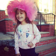 Silly hat day School parede