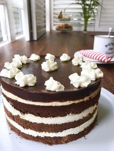 Cakes And More, No Bake Desserts, Tiramisu, Cheesecake, Food And Drink, Sweets, Cookies, Baking, Form
