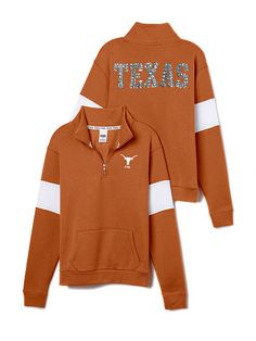 University of Texas Bling Half-Zip Pullover PINK OOPS ITS 70 DOLLARS