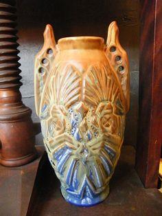 Vase ART Déco Gilbert Métenier 34 CM Années 30 | eBay