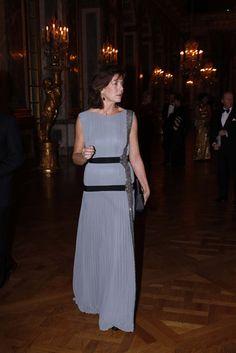 Carolina de Mónaco deslumbra con su belleza en el Palacio de Versalles