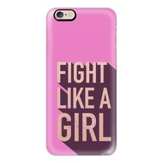 iPhone 6 Plus/6/5/5s/5c Case - Fight like a girl, breast cancer... (60 NZD) ❤ liked on Polyvore featuring accessories, tech accessories, iphone case, iphone 5 cover case, iphone cases, apple iphone 6 case, iphone cover case y iphone 6 case