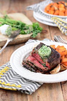 Whole Roasted New York Strip Steak with Tomato, Arugula & Salsa ...