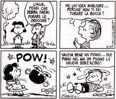 Lucy e Linus Snoopy Comics, Peanuts Comics, Charlie Brown, Linus Van Pelt, Brown Co, Peanuts Snoopy, Calvin And Hobbes, Woodstock, The Darkest