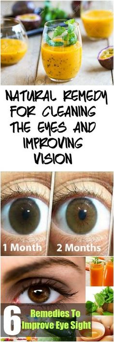 #NATURAL REMEDY FOR CLEANING THE EYES AND IMPROVING VISION