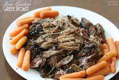 SLOW COOKER GREEK POT ROAST