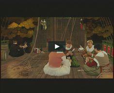 """  A Viagem   A Expo 98 colocou Portugal no centro do mundo. A Iniziomedia contribuiu com três filmes de animação com imagens em 3D que foram exibidos no Pavilhão de Portugal e vistos por um milhão de pessoas, entre eles """"A Viagem"""", uma evocação da chegada, no século XVI, dos missionários portugueses ao Japão, país até então completamente fechado ao resto do mundo. Os biombos japoneses e a arte Namban serviram de inspiração à estética do filme."""