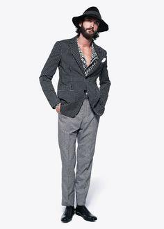 マックイーン新作。このセットアップかっけー!!  /[No.12/34] Alexander McQueen 2013春夏コレクション | Fashionsnap.com