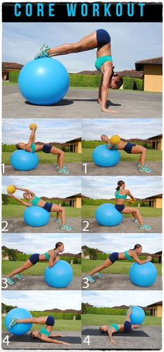 Swiss Ball Core Workout–I can totally see myself doing that handstand. – Sydney Smith Swiss Ball Core Workout–I can totally see myself doing that handstand. Swiss Ball Core Workout–I can totally see myself doing that handstand. Fitness Workouts, At Home Workouts, Fitness Tips, Fitness Motivation, Health Fitness, Ball Workouts, Core Workouts, Fitness Women, Trainer Fitness