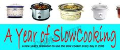 My friend Cheryl has been trying slow cooker recipes from this site.  My goal is to get better at planning our meals each week in order to help us stay on a better schedule in the evenings.  Hope this site will help me!!