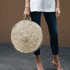 Basket bags are this