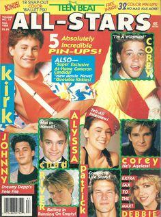 magazine Teen gallery stars