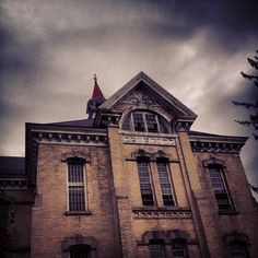 Looks like the perfect place for a Haunted House! Northern Michigan Asylum for the Insane