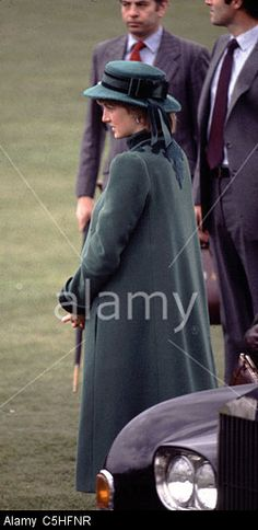 March 30, 1982: Princess Diana accompanied Prince Charles to open a new wing at St. Gemma's hospice, Harrogate Road, Leeds, Bristol.