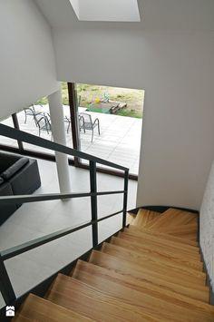 Schody styl Nowoczesny - zdjęcie od DOMY Z WIZJĄ - nowoczesne projekty domów - Schody - Styl Nowoczesny - DOMY Z WIZJĄ - nowoczesne projekty domów