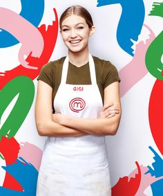 Gigi Hadid - MasterChef Hamburger | Gigi Hadid shared her food philosophy on MasterChef Celebrity Showdown: eat clean to saty fit, eat a burger to stay sane. #refinery29 http://www.refinery29.com/2016/01/101483/gigi-hadid-masterchef-burger-a-week