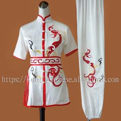 92.48$ Buy here - http://ali447.shopchina.info/go.php?t=1959505344 - Chinese kungfu uniform wushu clothing changquan outfit taolu clothes Martial arts suit for men women boy girl kids adults child #aliexpressideas